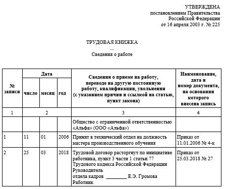 Кзот ст 77 п 1